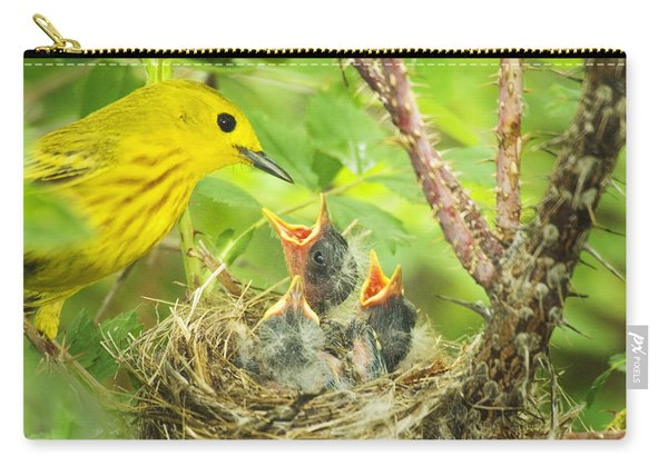 Dinner At The Warblers Carry-all Pouch