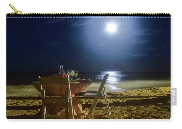 Dinner For Two In The Moonlight Carry-all Pouch