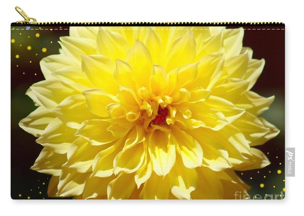 Dinner Plate Dahlia In Starry Sky Carry-all Pouch
