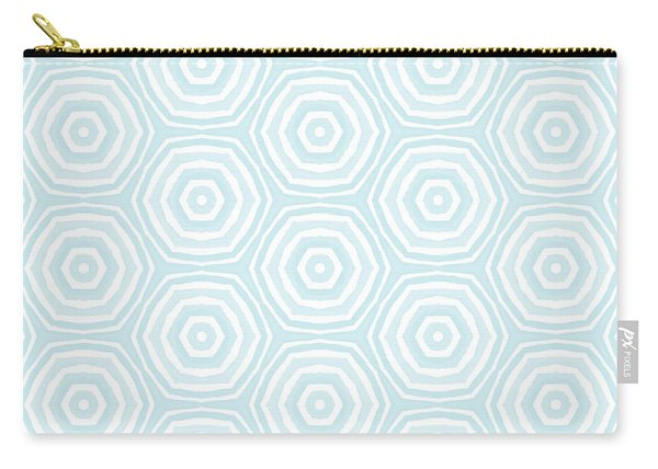 Dip In The Pool -  Pattern Art By Linda Woods Carry-all Pouch
