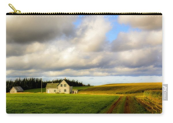 Dirt Road To Old Homestead, Mabou Ridge Carry-all Pouch