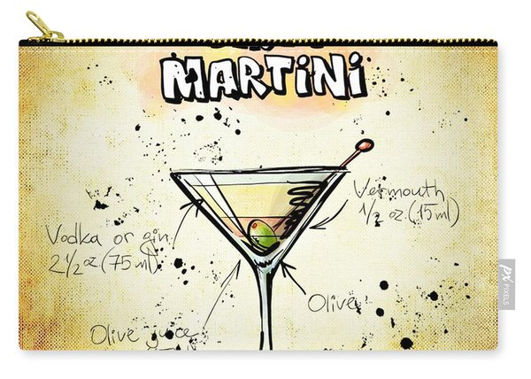 Dirty Martini  Carry-all Pouch