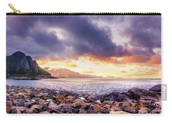 Carry-all Pouch featuring the photograph Disappearing Archipelago by Dmytro Korol
