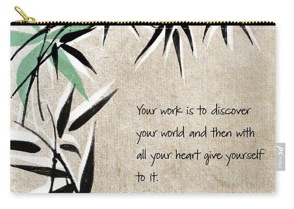 Discover Your World Carry-all Pouch