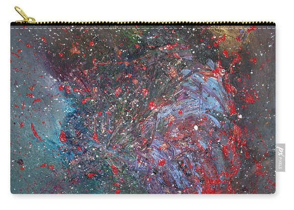 Carry-all Pouch featuring the painting Discovery by Michael Lucarelli