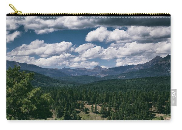 Carry-all Pouch featuring the photograph Distant Windows by Jason Coward