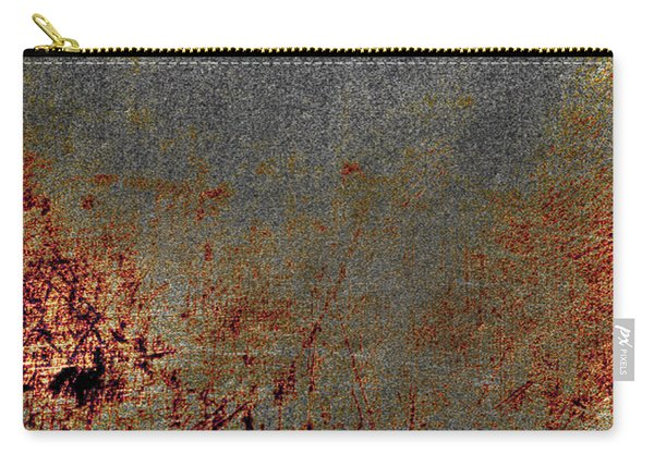 Distressed Scratched  Carry-all Pouch