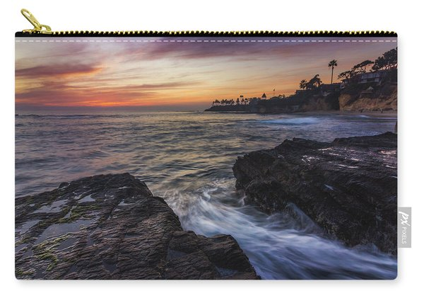 Diver's Cove Sunset Carry-all Pouch