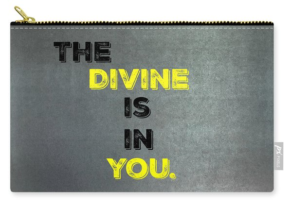 Divine #1 Carry-all Pouch