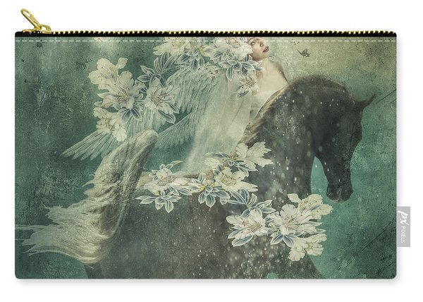 Divine Horse Whisperer Carry-all Pouch