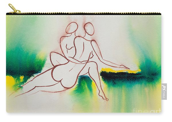 Divine Love Series No. 2090 Carry-all Pouch