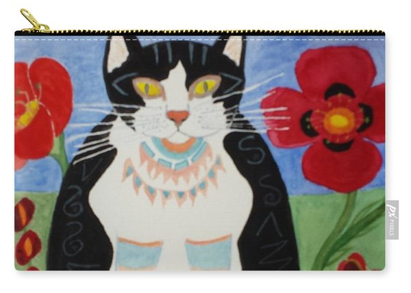 Diwali Tux Cat Carry-all Pouch