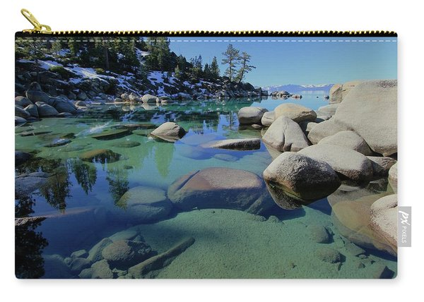 Carry-all Pouch featuring the photograph Do You Enjoy A Visual World? by Sean Sarsfield
