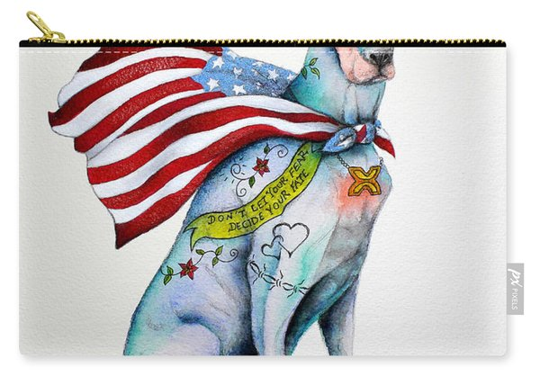 Doberman Napolean Carry-all Pouch