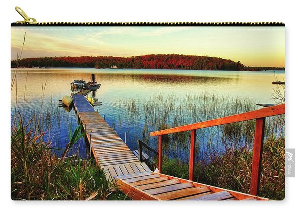 Dock At Gawas Bay Carry-all Pouch