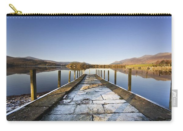 Dock In A Lake, Cumbria, England Carry-all Pouch