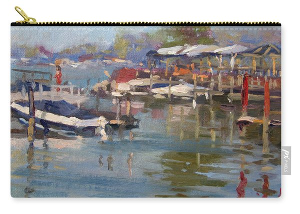 Dock In North Tonawanda Carry-all Pouch