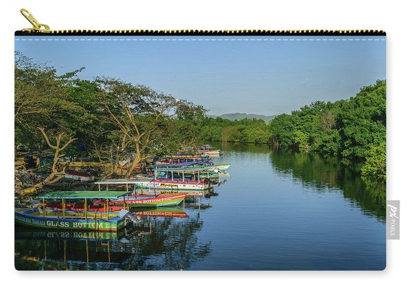 Boats By The River Carry-all Pouch