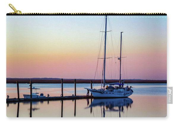 Docked On Jekyll Island Carry-all Pouch