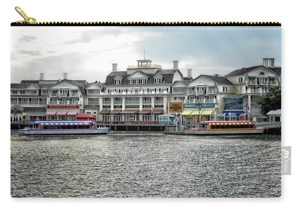 Docking At The Boardwalk Walt Disney World Mp Carry-all Pouch