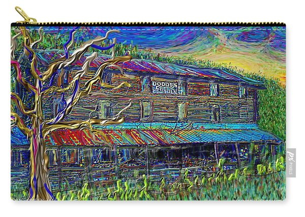 Dodds Creek Mill, ,floyd Virginia Carry-all Pouch