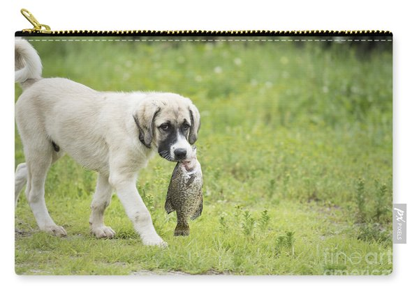 Dog Gone Fishing Carry-all Pouch