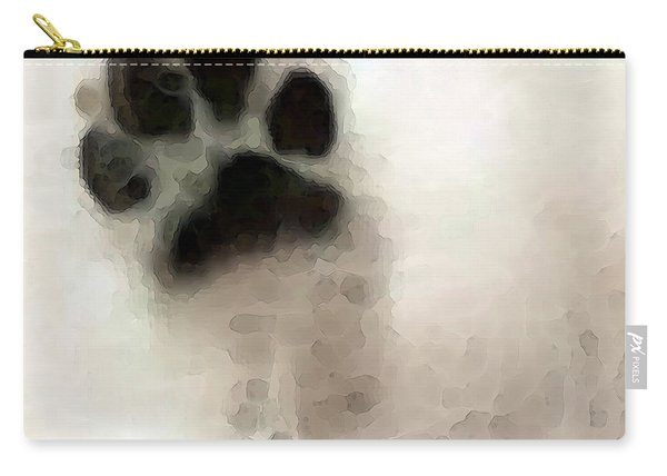 Dog Art - I Paw You Carry-all Pouch
