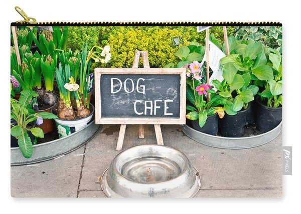 Dog Cafe Carry-all Pouch