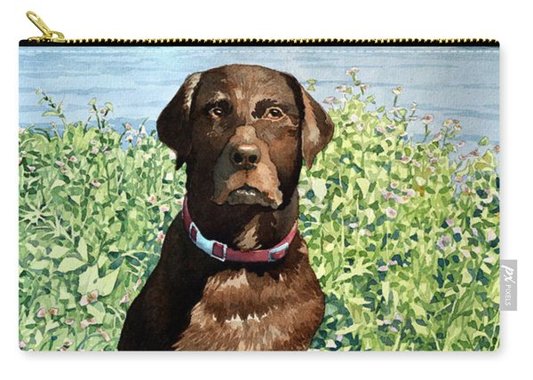 Dog Portrait #1 Carry-all Pouch