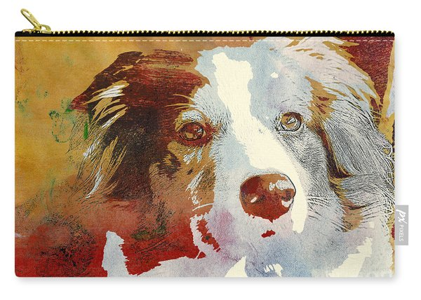 Dog Portrait Carry-all Pouch