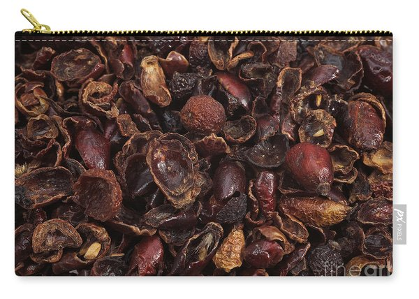 Dog Rose Hips Carry-all Pouch