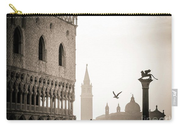 Doge's Palace S At Piazza San Marco In Venice, Italy Carry-all Pouch