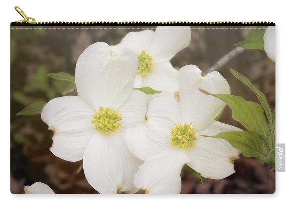 Dogwood Blossom Trio Carry-all Pouch