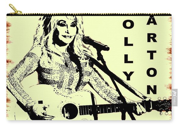 Dolly Parton Graffiti Poster Carry-all Pouch