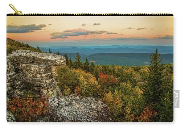 Dolly Sods Autumn Sundown Carry-all Pouch