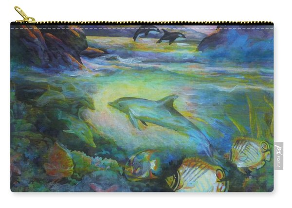 Dolphin Fantasy Carry-all Pouch