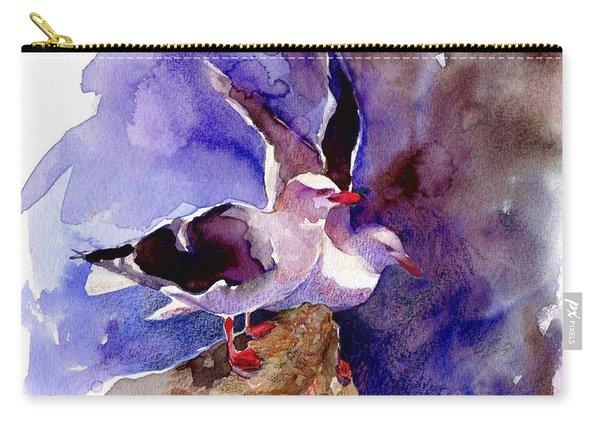 Dolphin Gulls Carry-all Pouch