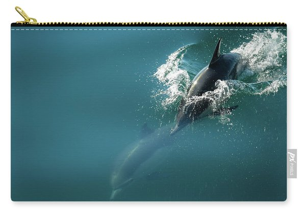 Dolphing Story Carry-all Pouch