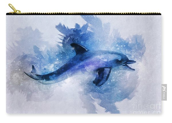 Dolphins Freedom Carry-all Pouch
