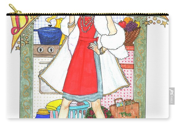Domestic Diva Carry-all Pouch