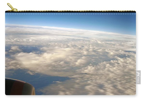 Domestic Flight At 35000 Feet Carry-all Pouch