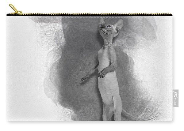 Don Sphynx Kitten No 02 Carry-all Pouch