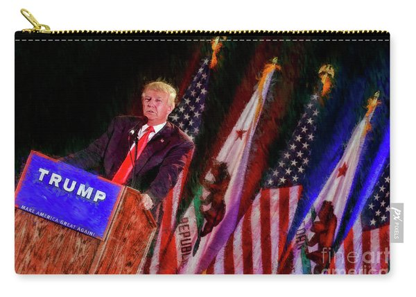 Donald Trump Make America Great Rally Carry-all Pouch