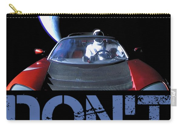 Don't Panic Starman Carry-all Pouch