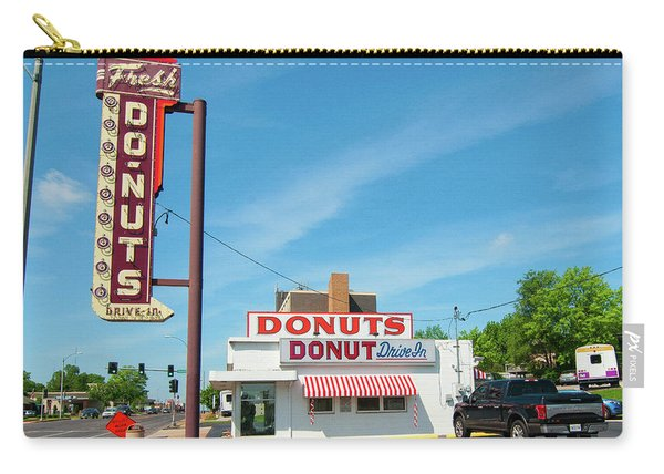 Donut Drive In Carry-all Pouch