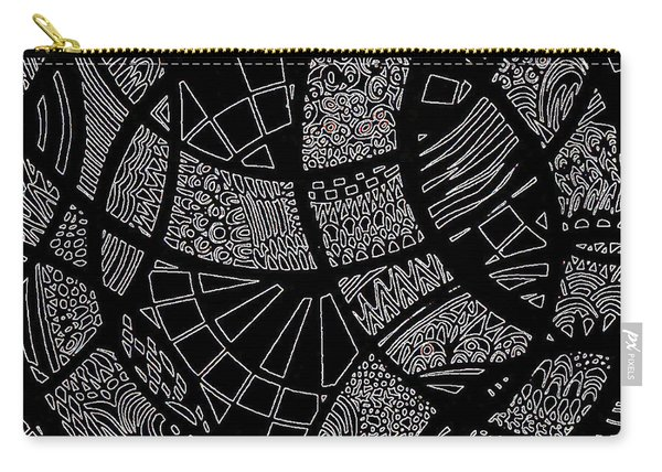 Doodle Art 1 Carry-all Pouch
