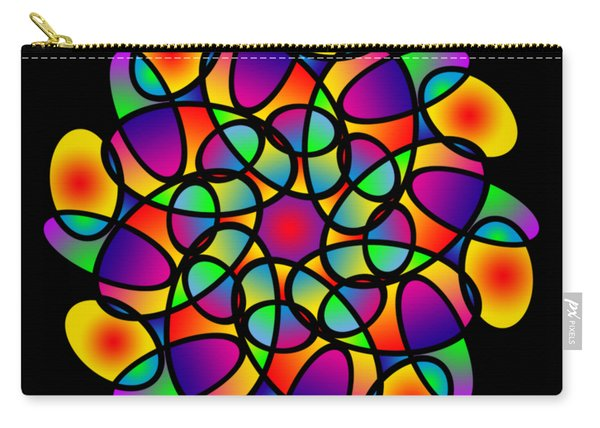Doodle Mandala Carry-all Pouch
