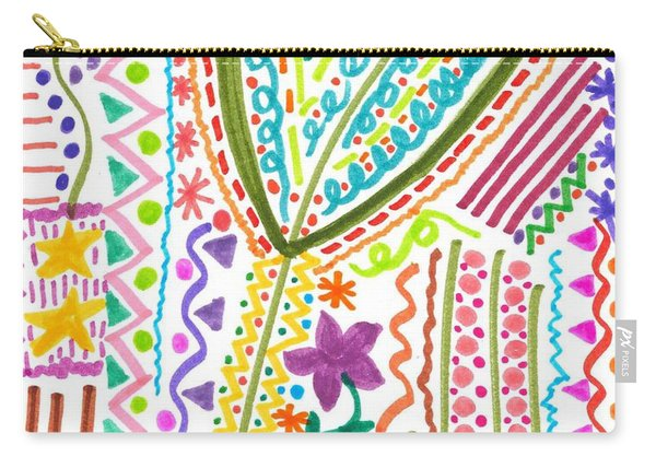Doodles Gone Wild Carry-all Pouch