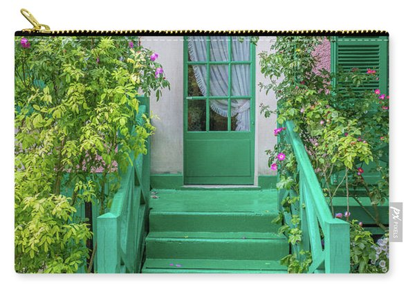Door To Claude Monet's Home, Giverny 2 Carry-all Pouch