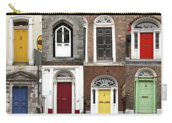 Doors Of Limerick Carry-all Pouch